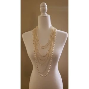 Forever 21 | Multi-chain faux pearl necklace